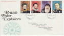 1972-02-16 Polar Explorers Stamps Ilford FDC (65113)