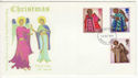 1972-10-18 Christmas Stamps Thames Unusual FDC (65146)