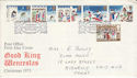 1973-11-28 Christmas Stamps Bethlehem FDC (65186)
