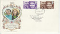 1973-11-14 Royal Wedding Stamps Liverpool FDC (65195)