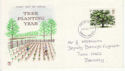 1973-02-28 British Trees Stamp Barnsley FDC (65263)