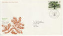 1973-02-28 British Trees Stamp Bureau FDC (65267)