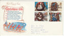 1974-11-27 Christmas Stamps Glasgow FDC (65323)