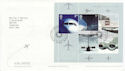 2002-05-02 Airliners Stamps M/Sheet T/House FDC (65335)