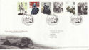 2005-02-24 Jane Eyre Stamps T/House FDC (65343)