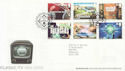 2005-09-15 Classic ITV Stamps T/House FDC (65352)