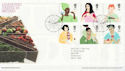 2005-08-23 Changing Tastes in Britain T/House FDC (65353)