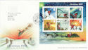2004-11-02 Christmas M/Sheet  T/House FDC (65367)