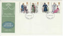 1975-10-22 Jane Austen Stamps Ilford FDC (65396)