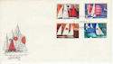 1975-06-11 Sailing Stamps Leicester FDC (65403)