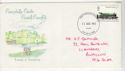 1975-08-13 Railways Caerphilly Castle Cardiff FDC (65406)