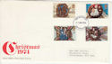1974-11-27 Christmas Stamps Birmingham FDC (65416)