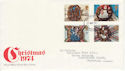 1974-11-27 Christmas Stamps London FDC (65417)