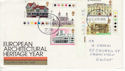 1975-04-23 Architectural Heritage Gwent FDC (65429)