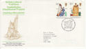 1976-08-04 Cultural Traditions Stamps Cardigan FDC (65453)