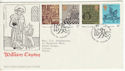 1976-09-29 Caxton Printing Stamps London SW1 FDC (65454)