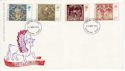 1976-11-24 Christmas Stamps Romford FDC (65455)