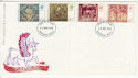 1976-11-24 Christmas Stamps Swindon FDC (65456)