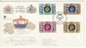 1977-05-11 Silver Jubilee Stamps London SW1 FDC (65469)