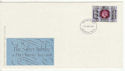 1977-06-15 Silver Jubilee Stamp Swindon FDC (65496)