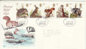 1977-10-05 British Wildlife Stamps Bognor FDC (65522)