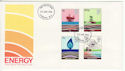 1978-01-25 Energy Stamps London W1 FDC (65567)