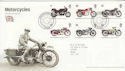 2005-07-19 Motorcycles Stamps Solihull FDC (65601)