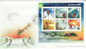 2004-11-02 Christmas Stamps M/S Bethlehem FDC (65613)