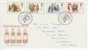 1978-11-22 Christmas Stamps Bethlehem FDC (65648)