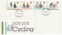 1978-08-02 Cycling Stamps Cleveland FDC (65652)