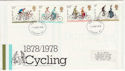 1978-08-02 Cycling Stamps London FDC (65653)