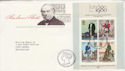1979-10-24 Rowland Hill Stamps M/S Bureau FDC (65693)