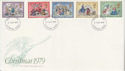 1979-11-21 Christmas Stamps Romford FDC (65749)