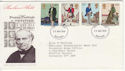 1979-08-22 Rowland Hill Stamps Bedford FDC (65762)