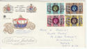 1977-05-11 Silver Jubilee Stamps Llanelli FDC (65778)