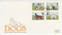 1979-02-07 Dogs Stamps Plymouth FDC (65784)