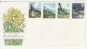 1979-03-21 Flowers Stamps No Postmark on FDC (65786)