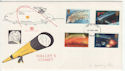 1986-02-18 Halleys Comet Stamps Chester FDC (65794)