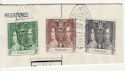 Nyasaland 1937 coronation Stamps on Piece (65882)