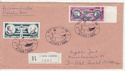 1984 France Airmail Stamps Used on Cover (65995)