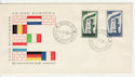 1956-09-15 Italy Europa Stamps FDC (65999)
