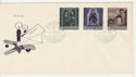 1958-12-04 Liechtenstein Christmas Stamps FDC (66001)