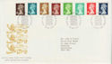 1988-08-23 Definitive Stamps Windsor FDC (66030)