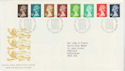 1988-08-23 Definitive Stamps Bureau FDC (66124)
