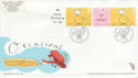 2004-02-03 Occasions Label Stamps Merry Hill FDC (66139)