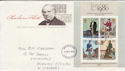 1979-10-24 Rowland Hill M/S Stamps London FDC (66148)