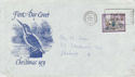 1979-11-21 Christmas Stamp Bournemouth Slogan FDC (66183)