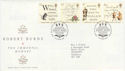 1996-01-25 Robert Burns Stamps Bureau FDC (66193)