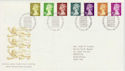1991-09-10 Definitive Stamps Bureau FDC (66305)