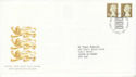 1997-04-21 Definitive Stamps Windsor FDC (66337)